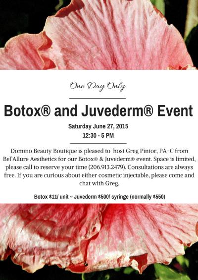 Botox Juvederm Event (2)