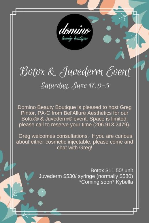 June Botox Event